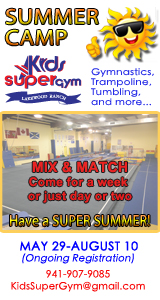 Kids SuperGym Summer Camp