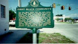 First Black Community