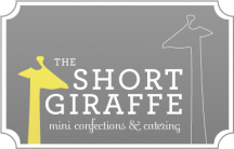 Short Giraffe Mini Confections and Catering