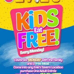 Evie's Tavern on the Range- Kids Eat Free