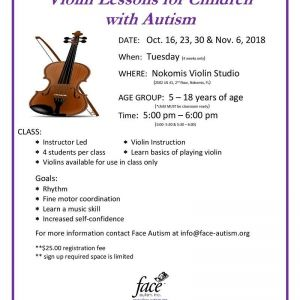 Free Beginning Violin Lessons for Children with Autism