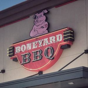 BoneYard BBQ Kids Eat Free