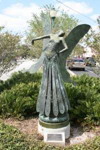 Butterfly Lady, The - Sculpture