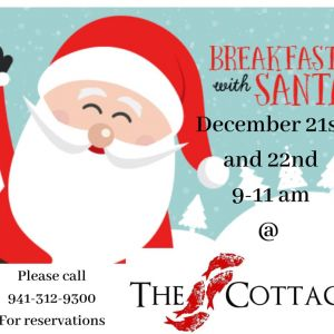 12/21 - Breakfast with Santa at The Cottage Siesta Key