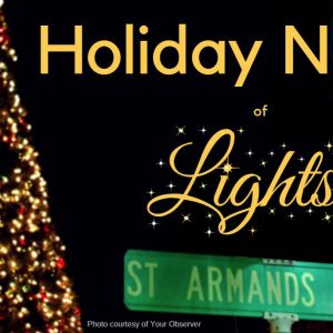 12/06 - Holiday Night on St. Armand's